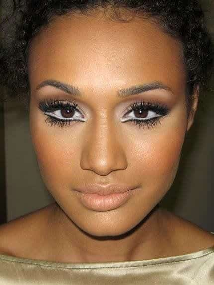 makeup2 Modern Kitenge Dresses-18 New African Kitenge Designs 2018