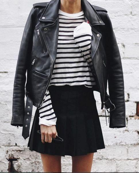 monochrome Petite Outfits Ideas-12 Latest Fashion Trends for Short Women