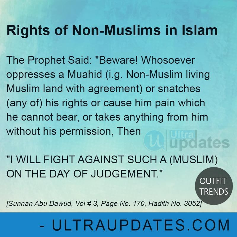 non-muslims-rights-in-islam Islamic Quotes About Life-50 Best Quotes which describes life in Islam