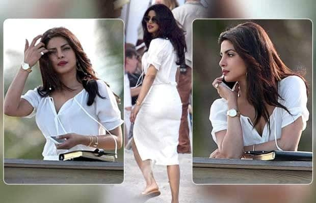 priyanka-chopra-miami-beach-outfit Bollywood Celebrities Beach Outfits-25 Indian Actress Beachwear