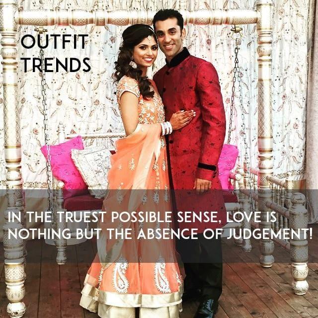 shilpa-utkarsh-indian-wedding-venue-hindu-ceremony-lehenga-sherwani-swing Cute Indian Couple Images-50 Cutest and Romantic Indian Couples
