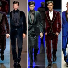 Men Velvet Blazer Outfits-17 Ideas on How to Wear Velvet Blazer