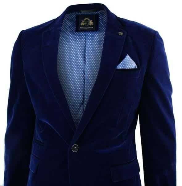 weddingwear Men Velvet Blazer Outfits-17 Ideas on How to Wear Velvet Blazer