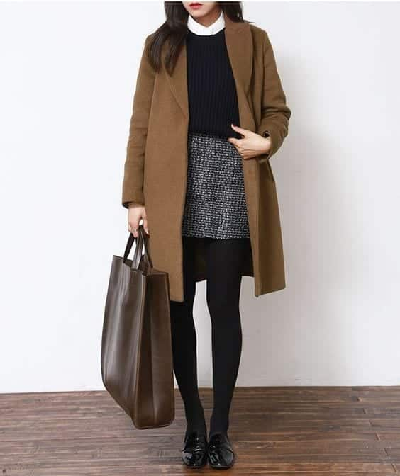 winterstyle Petite Outfits Ideas-12 Latest Fashion Trends for Short Women