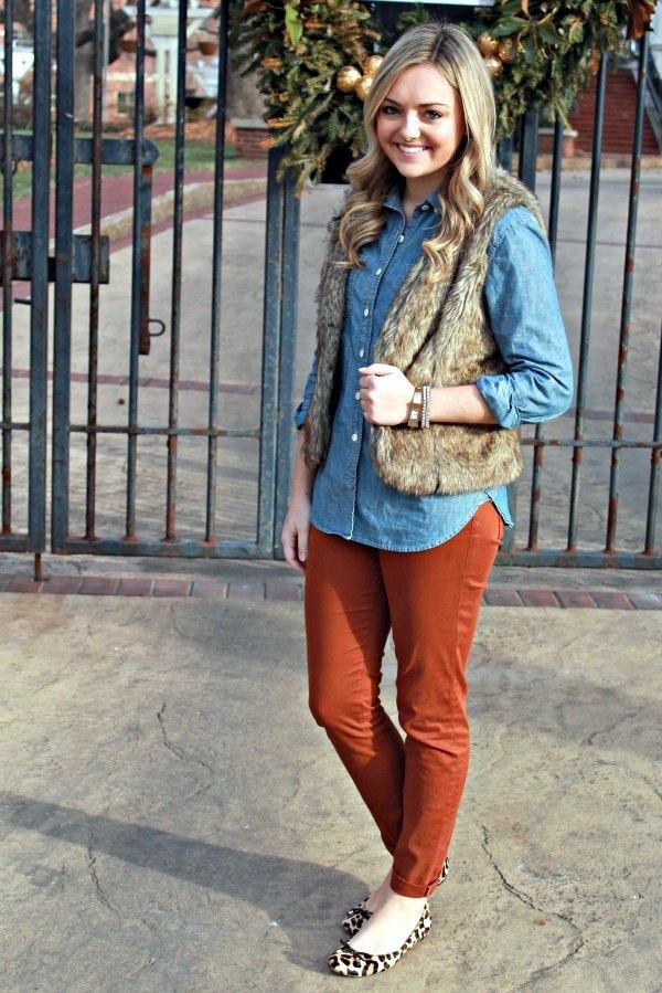 1-16 Fur Vest Outfits - 17 Ideas How to Wear Fur Vest with Any Outfit