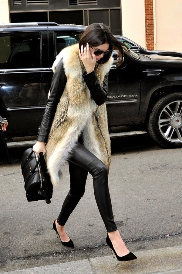 1-18 Fur Vest Outfits - 17 Ideas How to Wear Fur Vest with Any Outfit