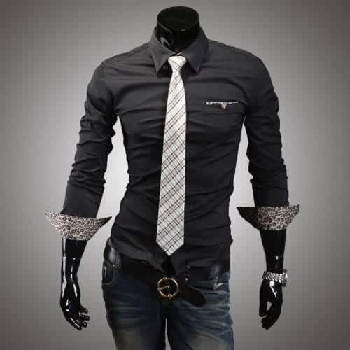 2013-Spring-And-Autumn-Hot-Sale-font-b-Men-s-b-font-Clothing-font-b-Leopard-500x500 Outfits for Short Height Guys-20 Fashion Tips to Look Taller