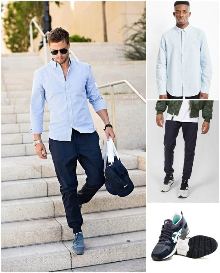 How to wear Sweatpants and Joggers for Men (14)