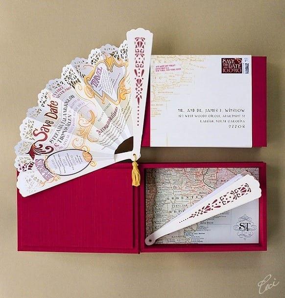 4e855123f1f938e8f2958ddcd97a10c2 40 Most Elegant Ideas for Wedding Invitation Cards and Creativity