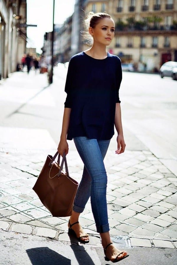 7-tips-on-how-to-pick-the-right-jeans-10 Women's Work Wear Outfits-20 Best Summer Office Wear for Women