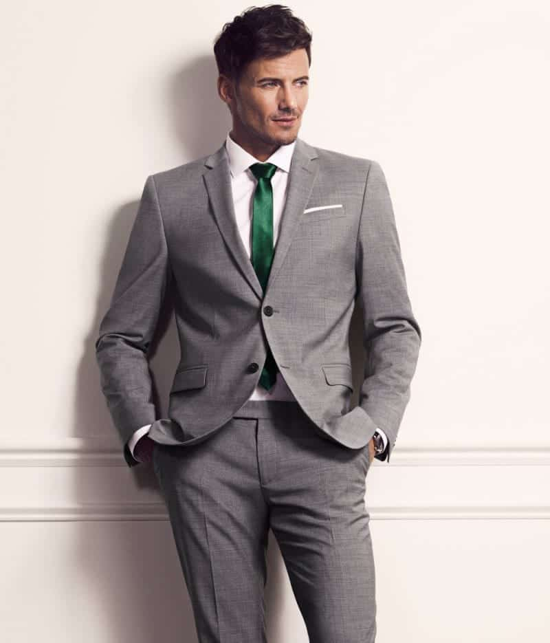 Mens-Suits-in-HM's-Spring-2013-Collection-3 Engagement Outfits for Men-20 Latest Ideas on What to Wear at Engagement