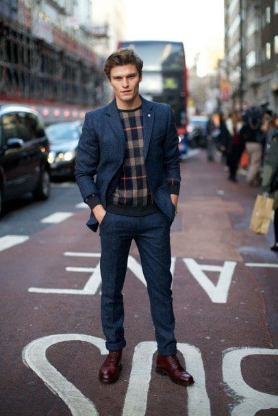Trendy-Street-Style-Men-fashion-406x608 Outfits for Short Height Guys-20 Fashion Tips to Look Taller