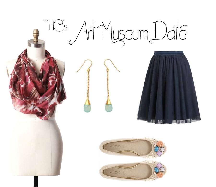 art-museum-date1 Date Outfits for Women - 20 Best Outfits to wear on a Date