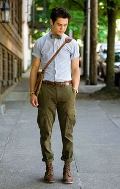 cargo-pants Outfits for Short Height Guys-20 Fashion Tips to Look Taller