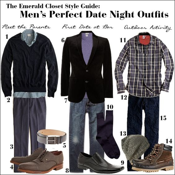date-outfits-for-men4 Date Outfits for Men-20 Best Outfits for Men to Wear on a Date