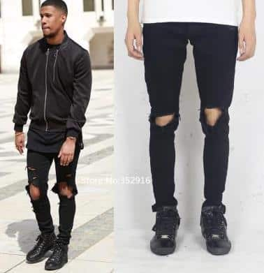 fashion-distressed-ripped-skinny-jeans-men Men's Outfits with Skinny Jeans-18 Ways to wear Skinny Jeans