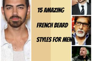 Styles for french beards