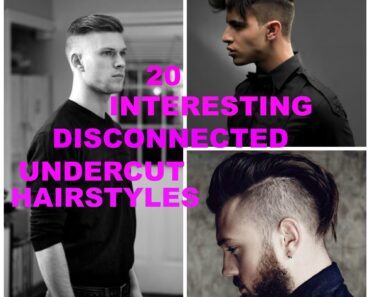 disconnected undercut hairstyles for men