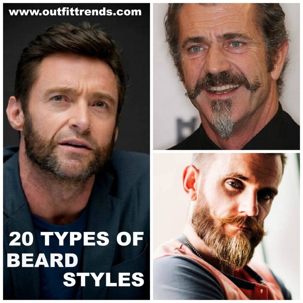 Different Styles Of Facial Hair Types Of Beards Styles Their Name With Pictures  A Complete List