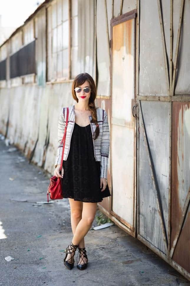 lace-up-flats-m-loves-m Outfits with Lace-up Shoes - 18 Ways to Wear Lace-up Shoes