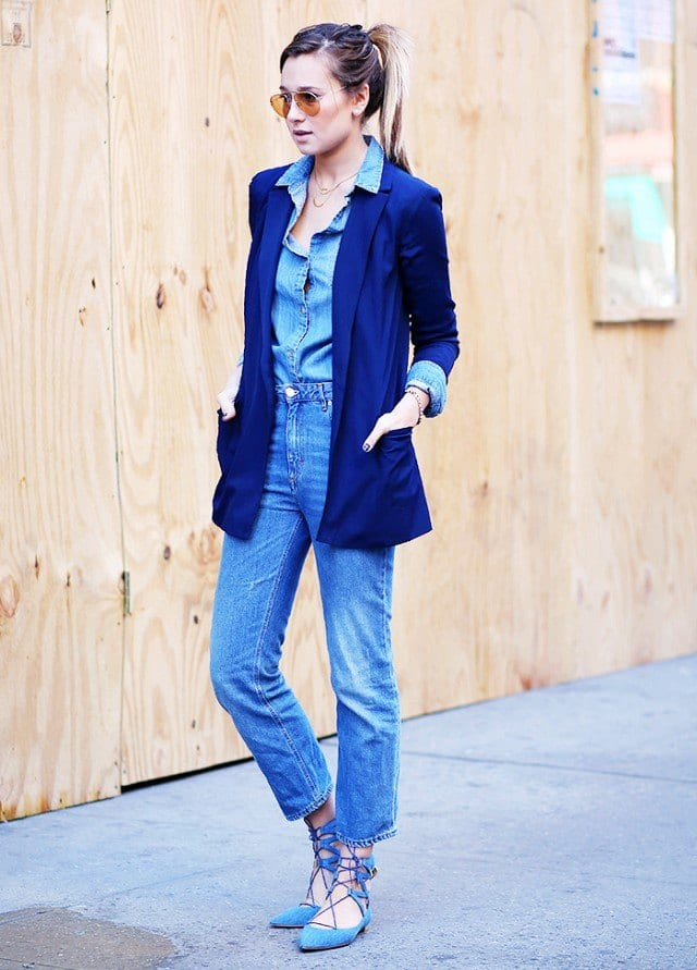 lace-up-shoes-outfits5 Outfits with Lace-up Shoes - 18 Ways to Wear Lace-up Shoes