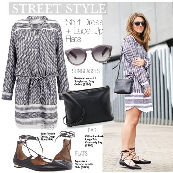 lace-up-shoes-outfits6 Outfits with Lace-up Shoes - 18 Ways to Wear Lace-up Shoes