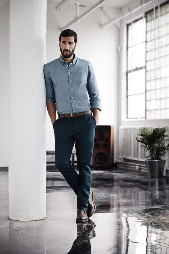 mens-office-wear13 Men Summer Office wear-18 Best Workwear Outfits for Warm Months