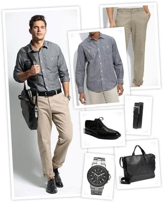 mens-office-wear66 Men Summer Office wear-18 Best Workwear Outfits for Warm Months