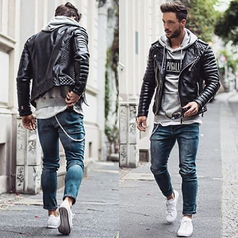 outfits-with-adidas-sneakers-for-men1 How to Style Adidas Superstar Men-18 Outfits with Adidas Sneakers
