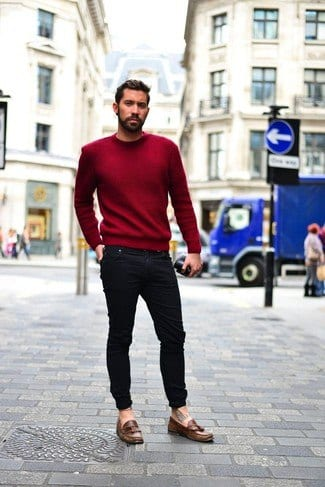 skinny-jeans-outfits-for-men-8 Men's Outfits with Skinny Jeans-18 Ways to wear Skinny Jeans