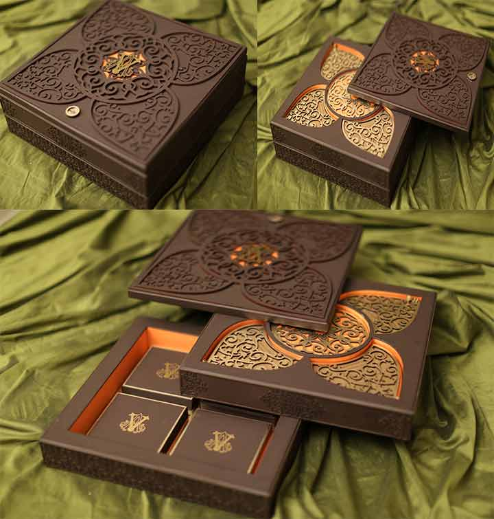 spice-box-wedding-invite 40 Most Elegant Ideas for Wedding Invitation Cards and Creativity