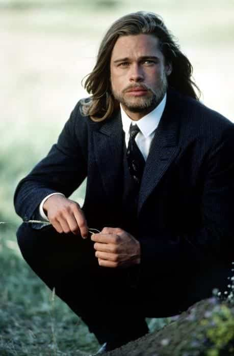 BradPitt-1 Celebrities Beards Styles-30 Most Sexiest Actors with Beard