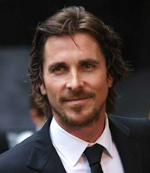 ChristianBale Celebrities Beards Styles-30 Most Sexiest Actors with Beard