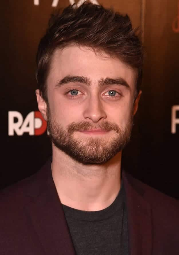 DanielRadcliff Celebrities Beards Styles-30 Most Sexiest Actors with Beard