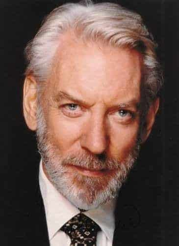 Donald-Sutherland Celebrities Beards Styles-30 Most Sexiest Actors with Beard