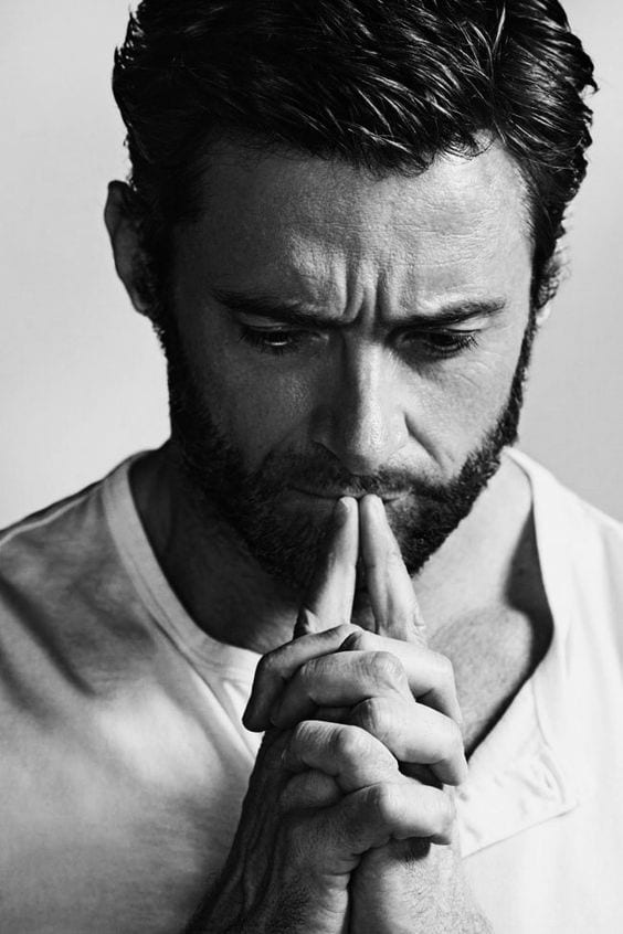 HughJackman Celebrities Beards Styles-30 Most Sexiest Actors with Beard