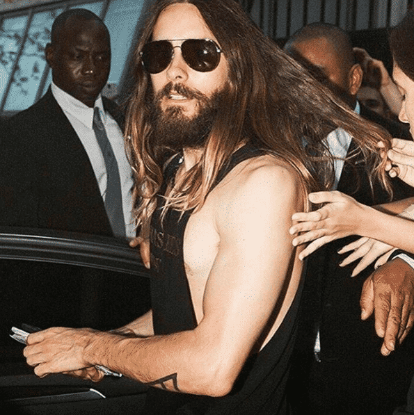 JaredLeto Celebrities Beards Styles-30 Most Sexiest Actors with Beard