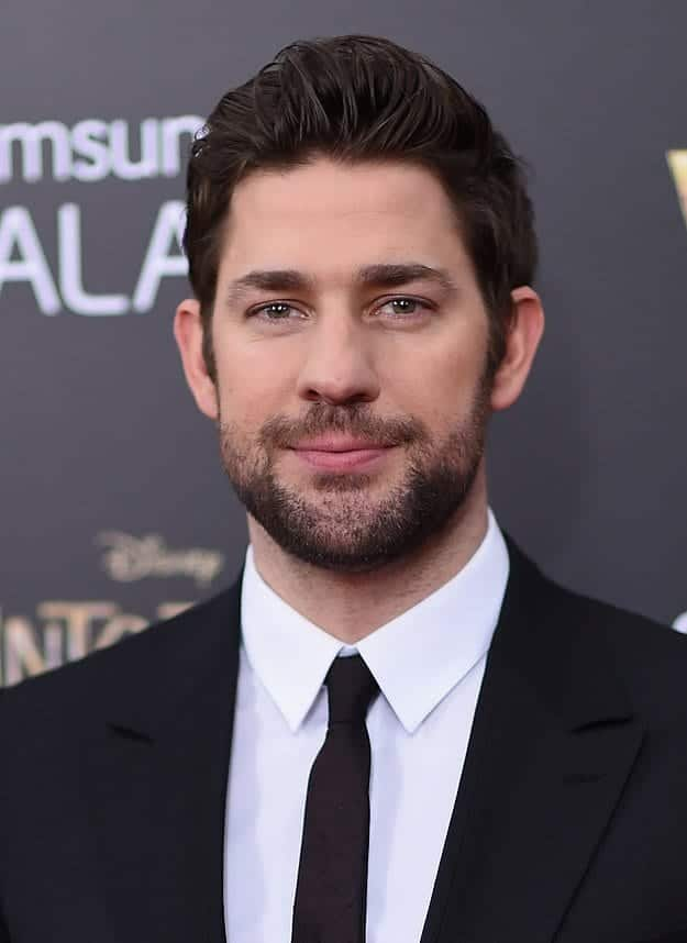 John-Krasinski Celebrities Beards Styles-30 Most Sexiest Actors with Beard