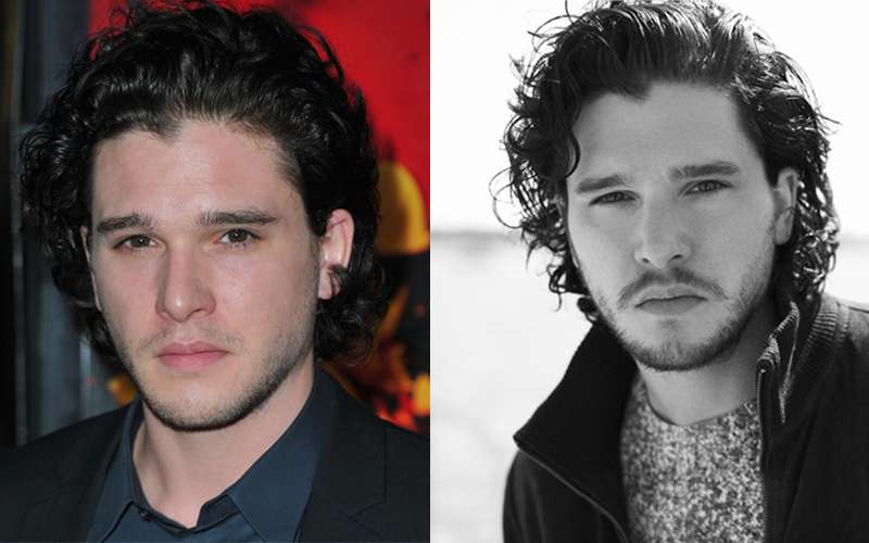 KitHarington Celebrities Beards Styles-30 Most Sexiest Actors with Beard