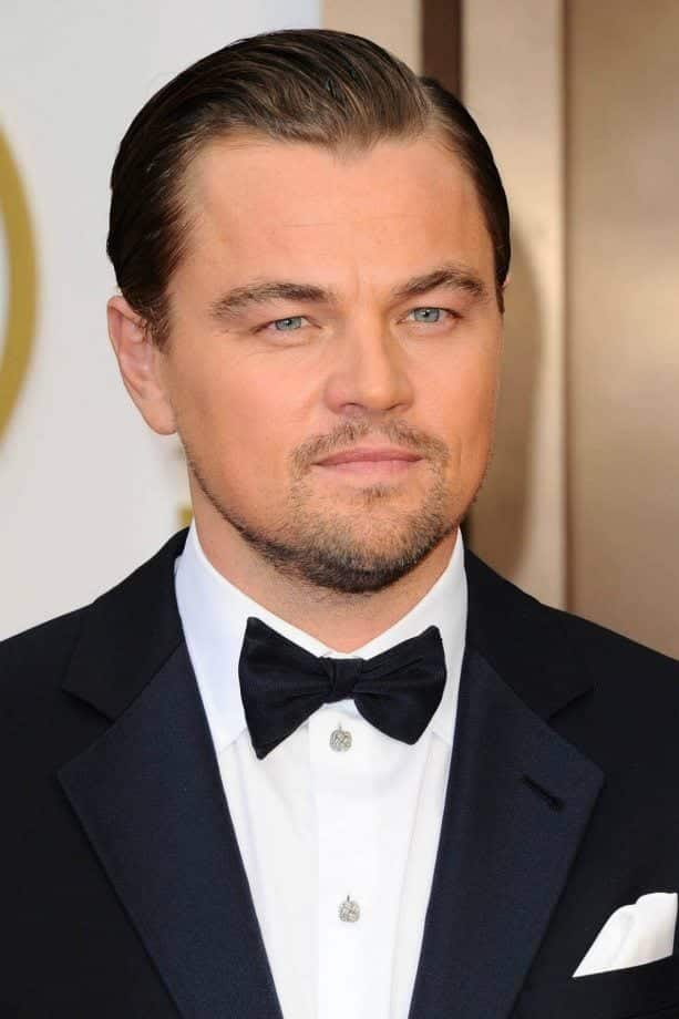 LeonardoDiCaprio Celebrities Beards Styles-30 Most Sexiest Actors with Beard