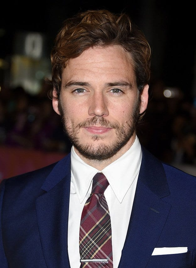 SamClaflin Celebrities Beards Styles-30 Most Sexiest Actors with Beard