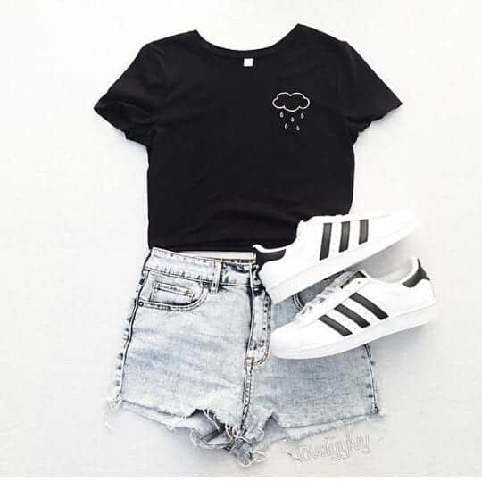 adidas-cool-fashion-girls-Favim.com-4061685 30 Cute Outfits with Adidas Shoes for Girls to try this Year