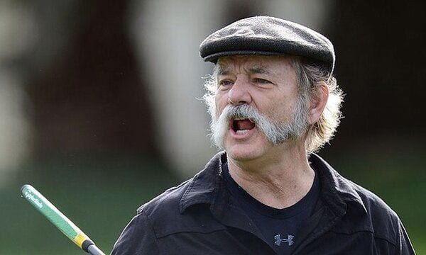 Young Bill Murray Mustache Mutton Chops Beard Sty...