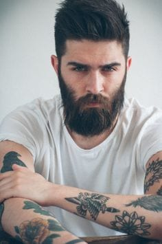 beard-styles-for-round-faces7 Beard Styles for Round Face-28 Best Beard Looks for Round Faces