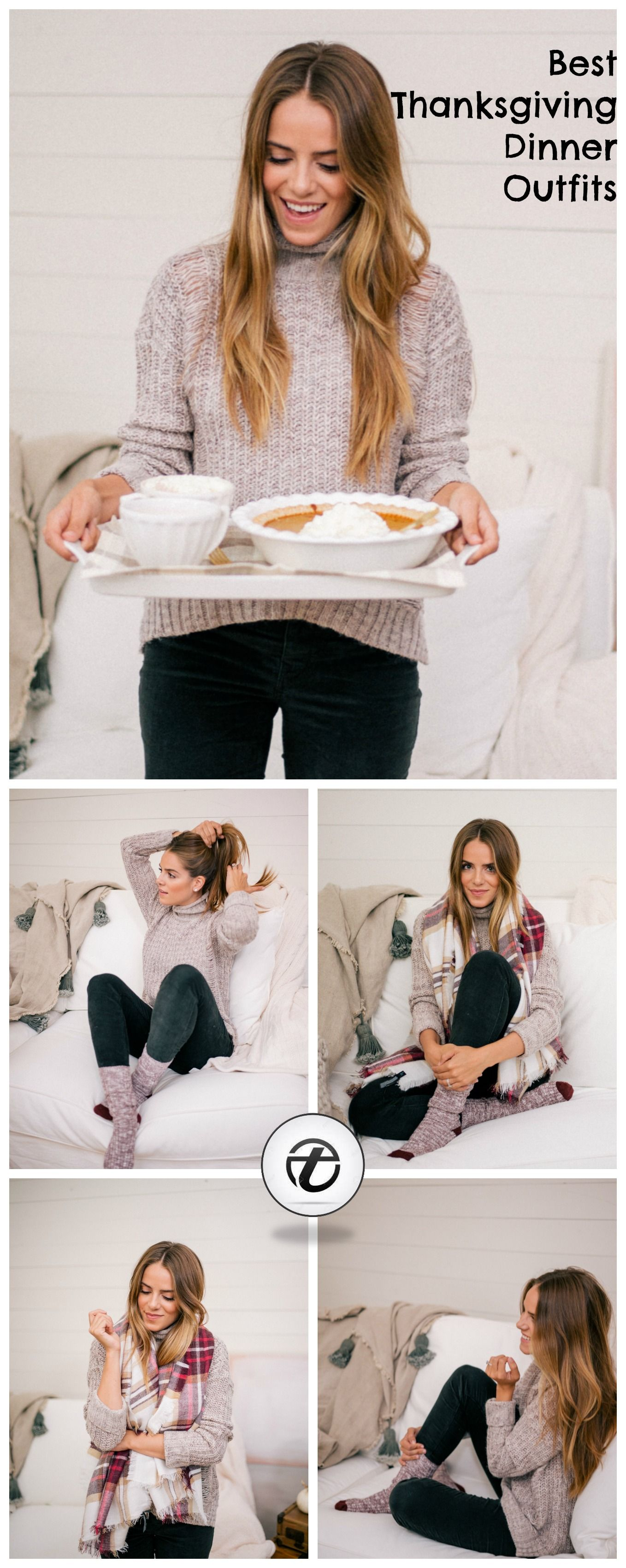 best-thanksgiving-dinner-outfits 2018 Thanksgiving Outfits Ideas-30 Ways to Dress up on Thanksgiving