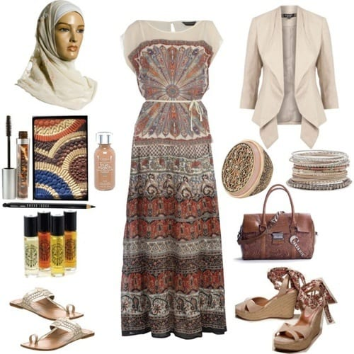 bohemian-outfit-for-mulsims 12 Chic Style Bohemian Outfits Combinations for this Season