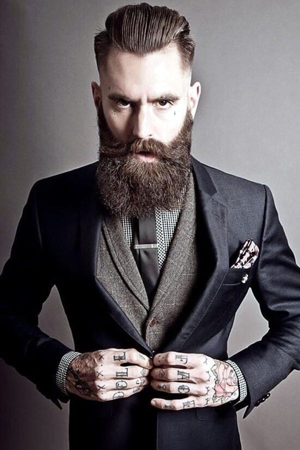 boxshaped-1 Facial Hair Styles-30 Best Beard Styles 2018 with Names and Pictures