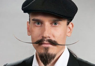dali Funny Beard Styles-20 Weirdest and Unique Facial Hair Looks Ever