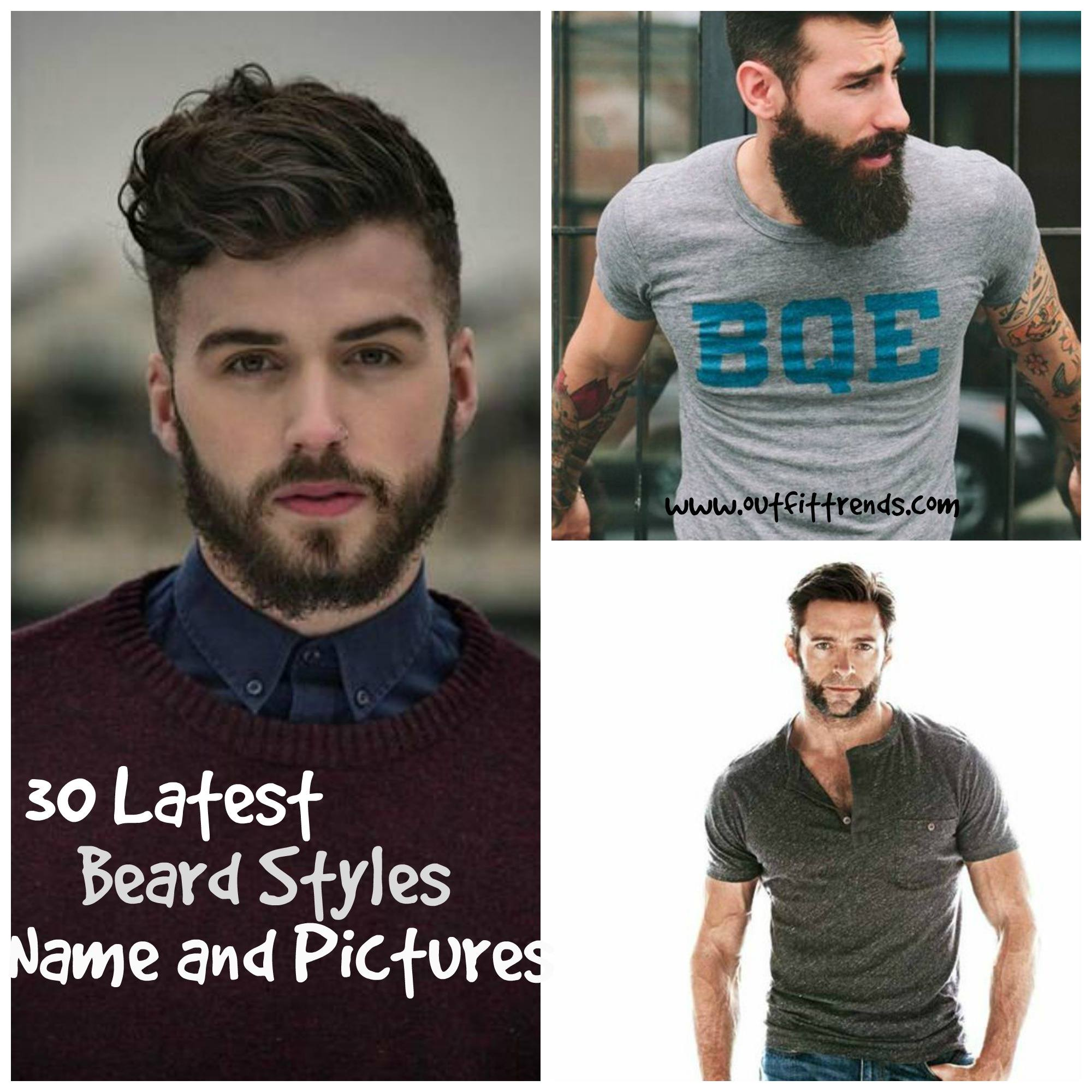 Facial Hair Styles Best Beard Styles With Names And Pictures - Girl hairstyle names