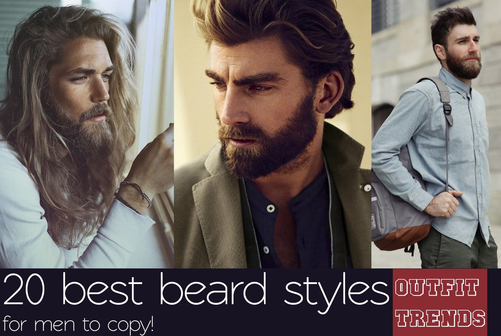 full-beard-styles Full Beard Styles and Tips on Growing and Styling Full Beard